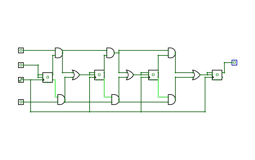 SYNCHRONOUS UP DOWN CIRCUIT